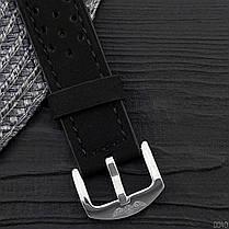 Годинники Winner (Віннер скелетон) 339 Silver-Black, Чоловічі, Чорний ремінець, фото 2