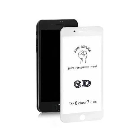 Защитное стекло Screen Guard iPhone 7 plus/8 plus б/уп. 6D, фото 2