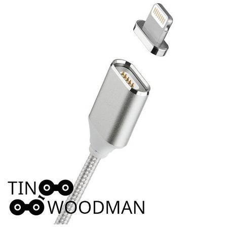 Магнитный дата кабель Tinwoodman Iphone Lightning, фото 2