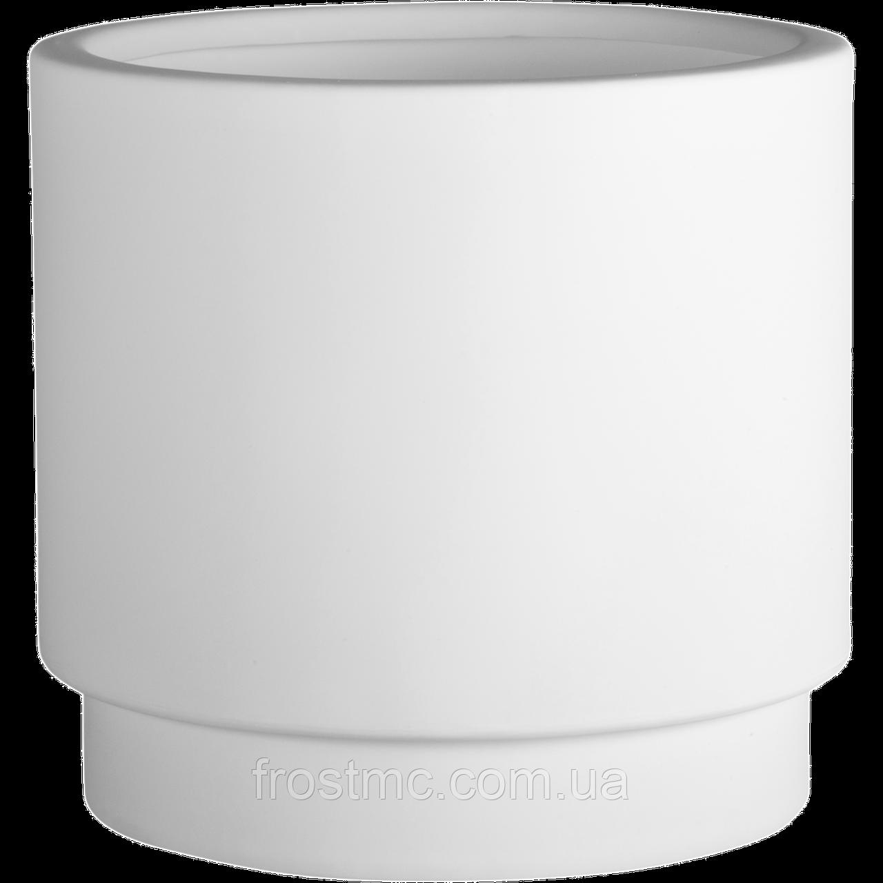 Donica White Basic ø50x40