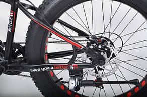 """Фэтбайк Горный велосипед S800 Hammer Extrime Колёса 24''х4,0"""". Алюминиевая рама 15"""", фото 3"""
