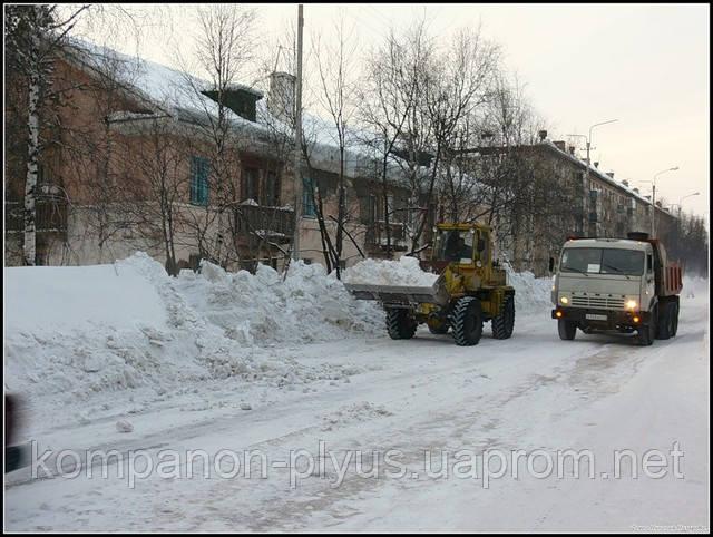 Послуги прибирання снігу