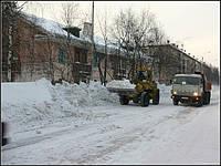 Услуги уборки снега
