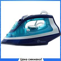 Праска з керамічним покриттям Domotec MS 2202 2200 Вт Синій, фото 2