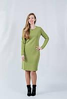Платье цвет олива
