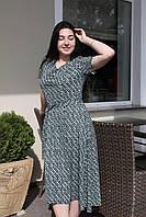 Платье Летнее зелёное