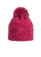 Интересная вязаная шапочка с бумбоном., фото 3