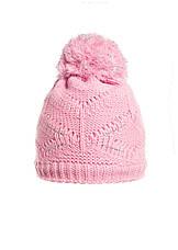Интересная вязаная шапочка с бумбоном., фото 2