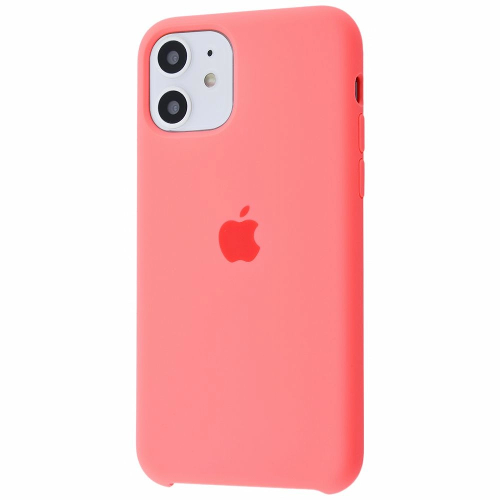 Чехол Silicone Case (Premium) для iPhone 11 Pink Paris