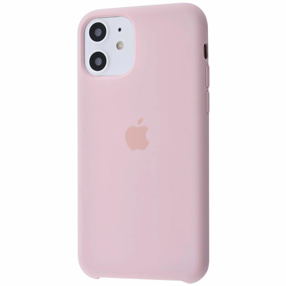 Чехол Silicone Case (Premium) для iPhone 11 Pink Sand