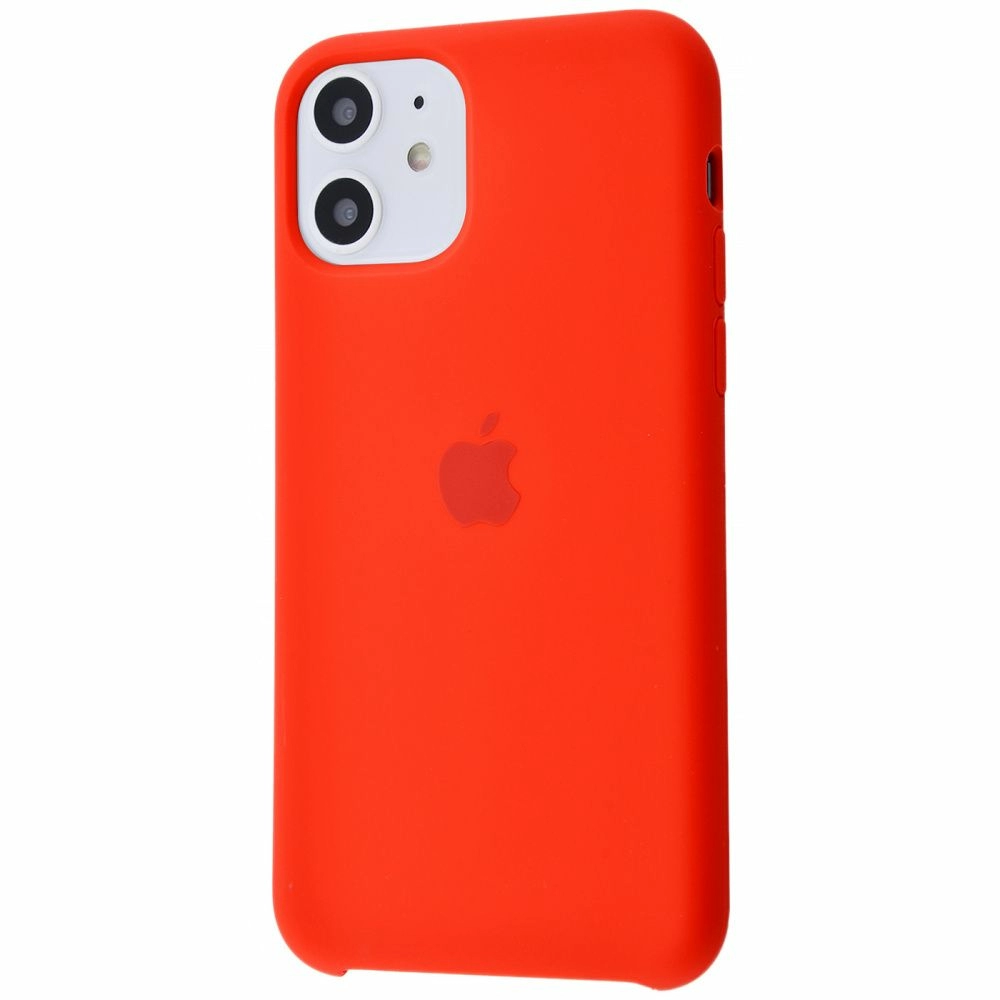 Чехол Silicone Case (Premium) для iPhone 11 Product RED