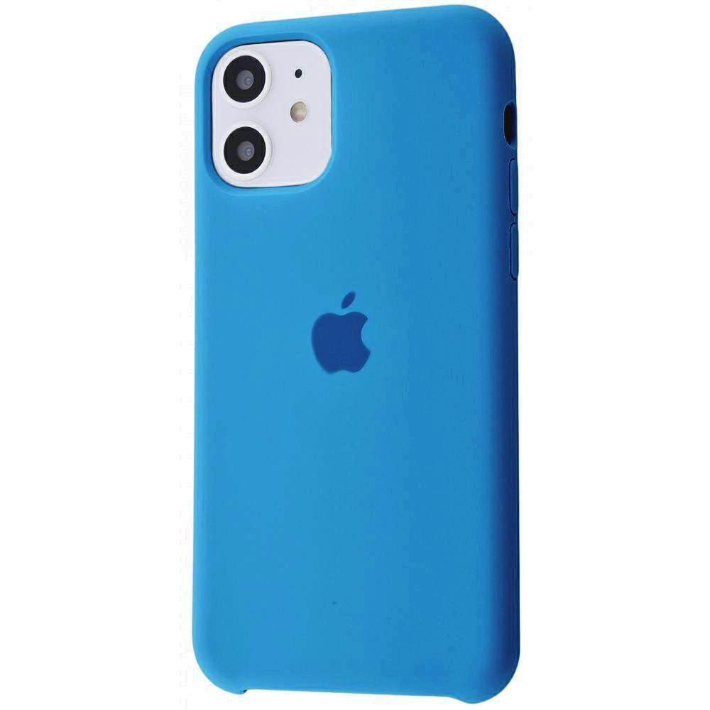 Чехол Silicone Case (Premium) для iPhone 11 Royal Blue