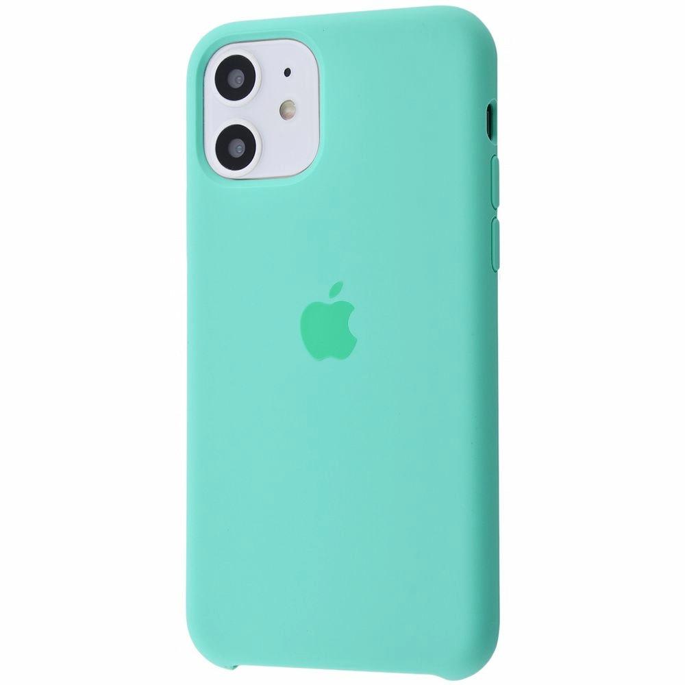 Чехол Silicone Case (Premium) для iPhone 11 Spearmint