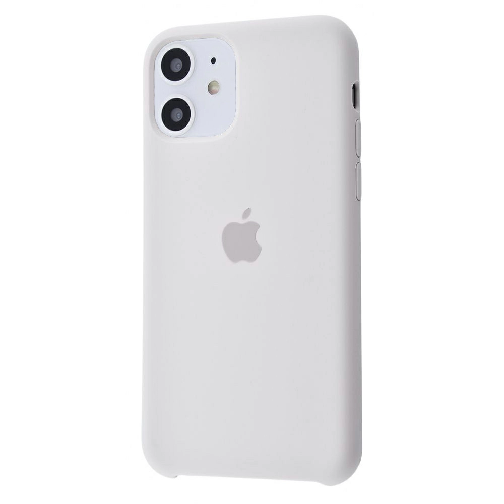 Чехол Silicone Case (Premium) для iPhone 11 Stone