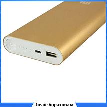 Портативное зарядное устройство Power Bank Mi 20800mAh, универсальная батарея, внешний аккумулятор, повер банк, фото 3