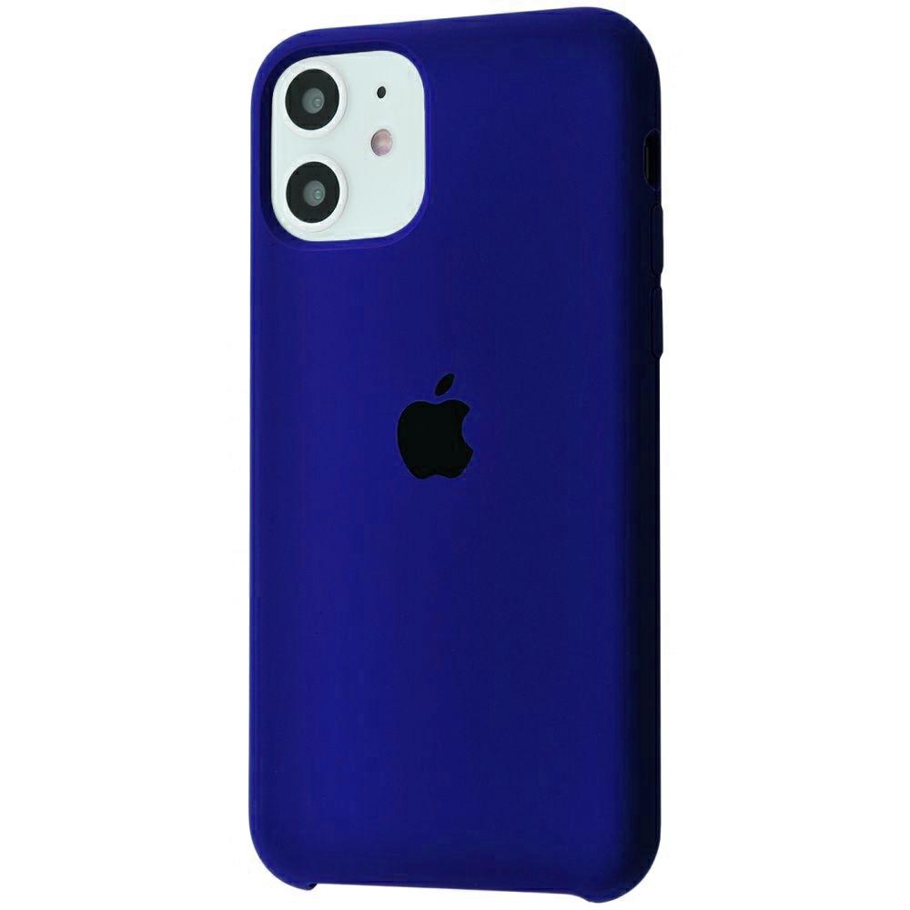 Чехол Silicone Case (Premium) для iPhone 11 Ultra Violet