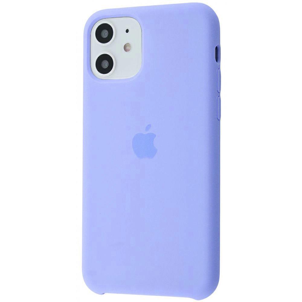 Чехол Silicone Case (Premium) для iPhone 11 Viola