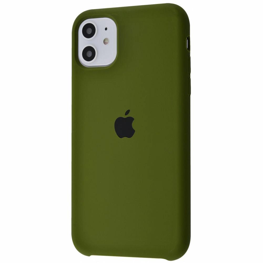 Чехол Silicone Case (Premium) для iPhone 11 Virid