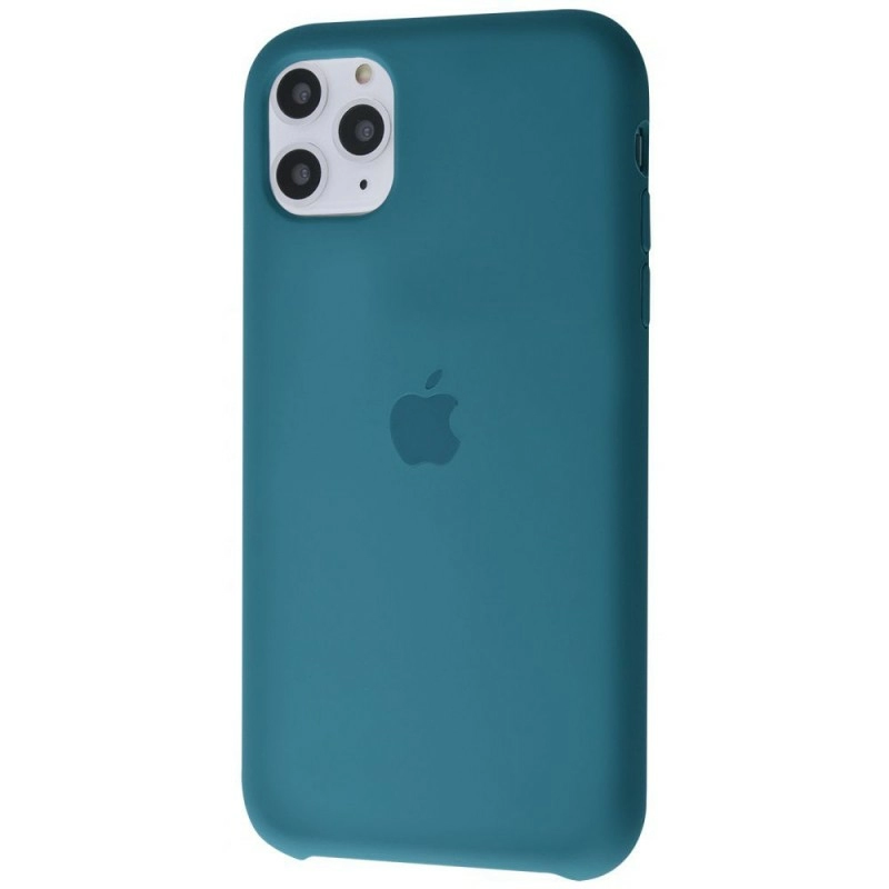 Чехол Silicone Case (Premium) для iPhone 11 Pro Max Alaskan Blue