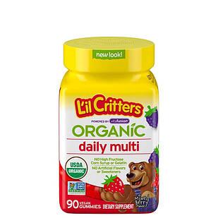 Lil' Critters Organic Complete Multi Mixed Berry органічні дитячі мультивітаміни 90 шт