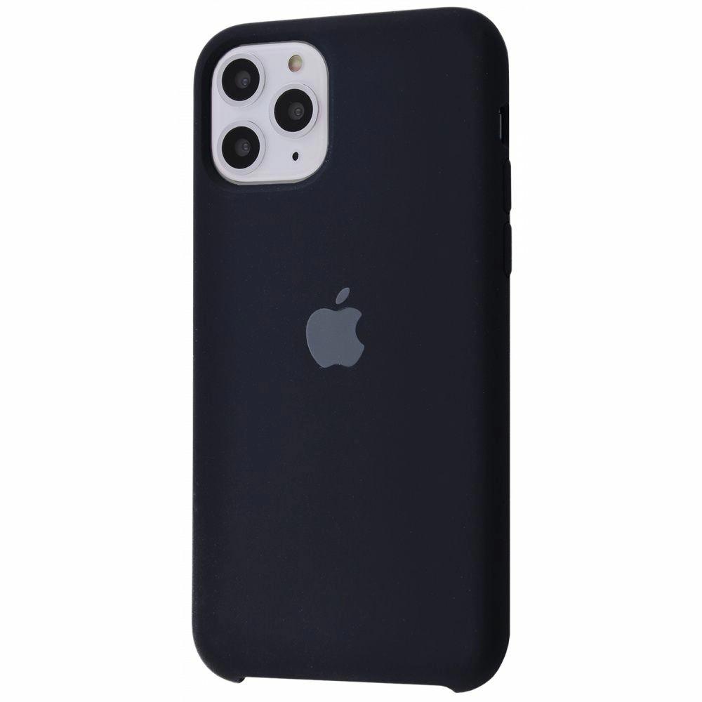 Чохол Silicone Case (Premium) для iPhone 11 Pro Max Black
