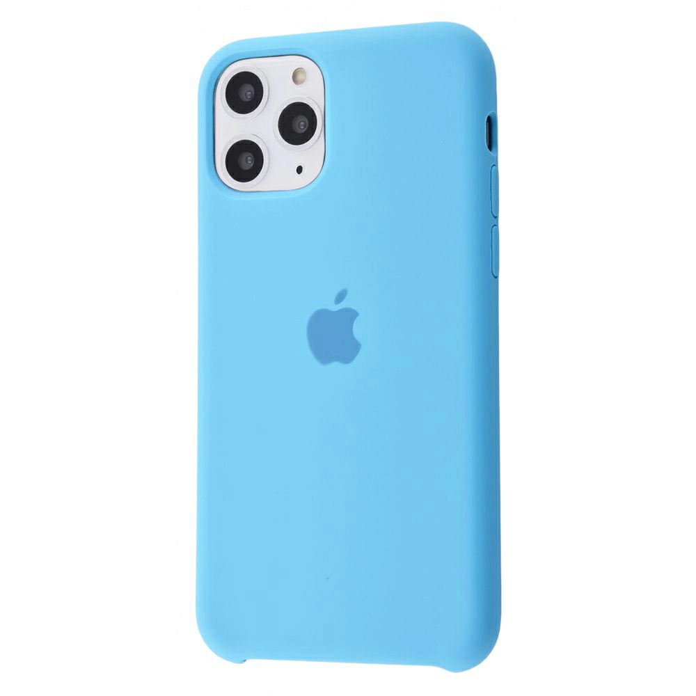 Чехол Silicone Case (Premium) для iPhone 11 Pro Max Blue