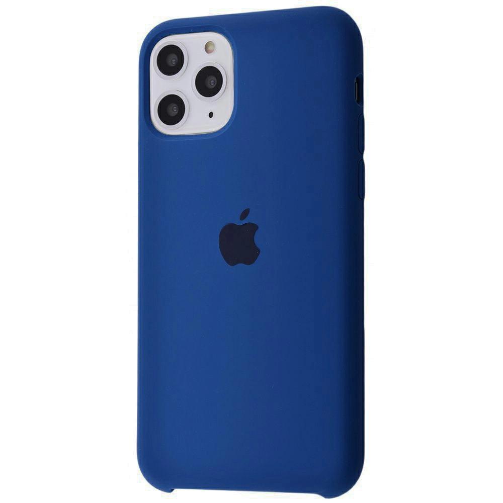 Чехол Silicone Case (Premium) для iPhone 11 Pro Max Blue Horizon