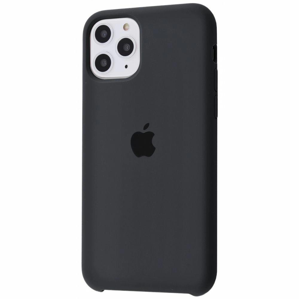 Чехол Silicone Case (Premium) для iPhone 11 Pro Max Charcoal Gray