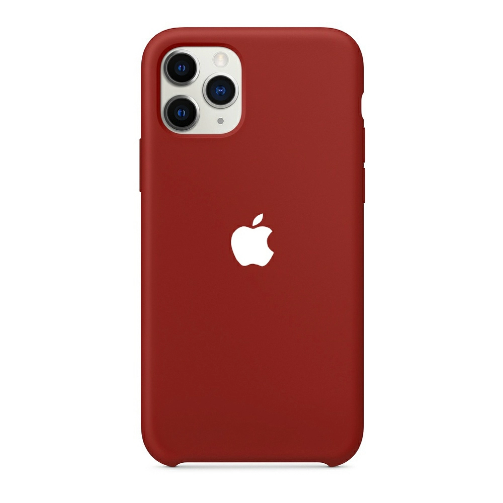 Чехол Silicone Case (Premium) для iPhone 11 Pro Max Cherry