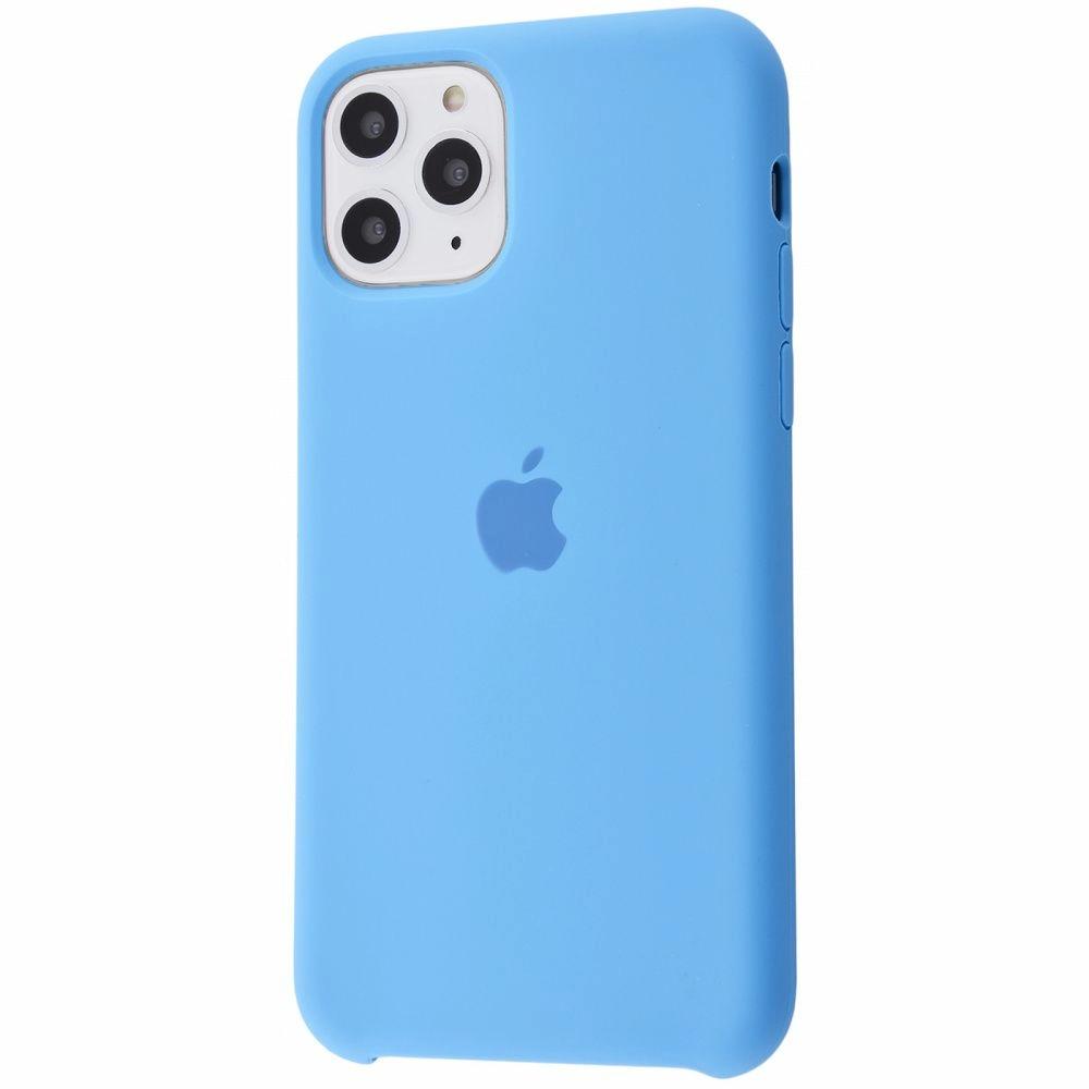 Чохол Silicone Case (Premium) для iPhone 11 Pro Max Cornflower