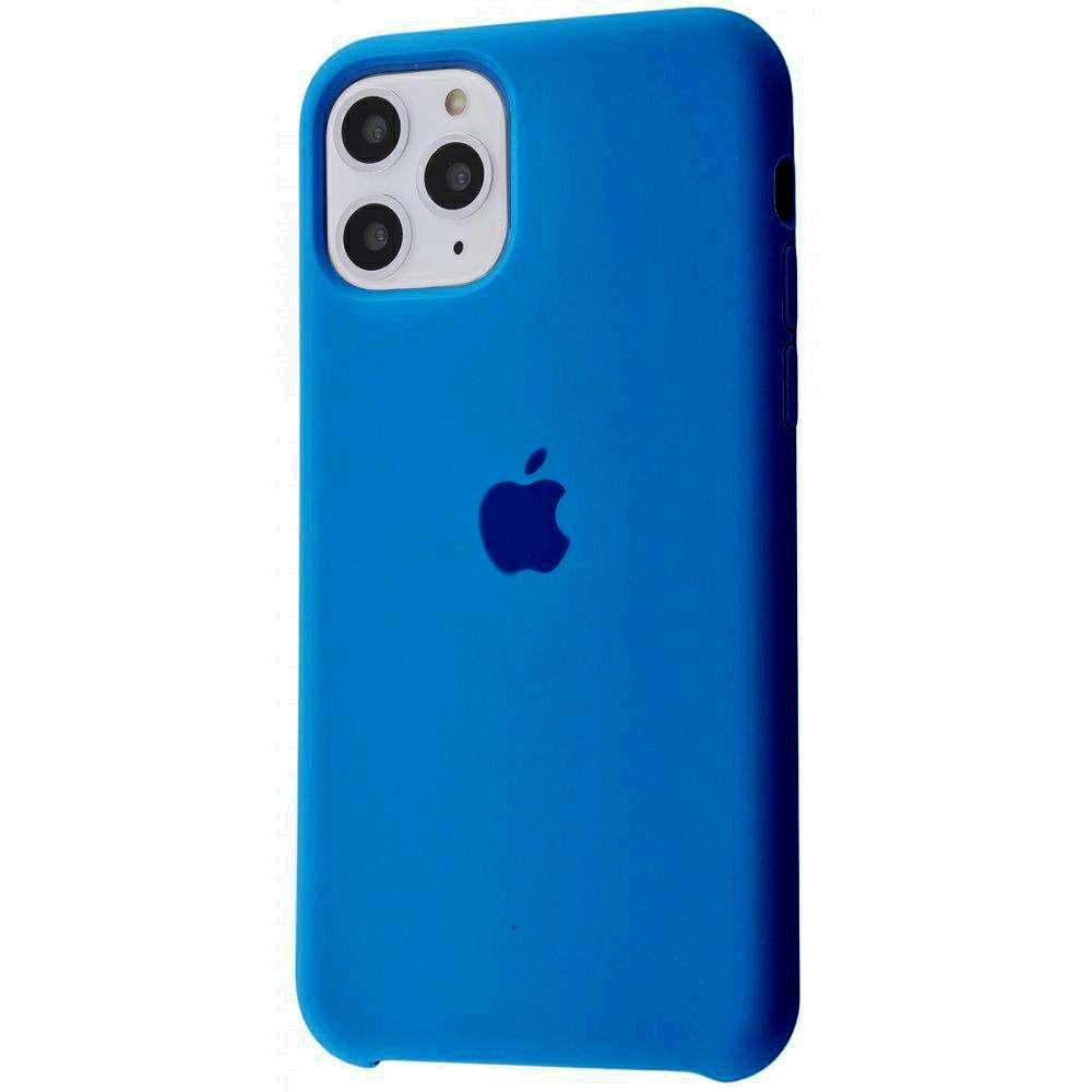 Чехол Silicone Case (Premium) для iPhone 11 Pro Max Delft Blue