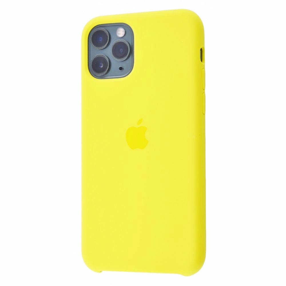 Чехол Silicone Case (Premium) для iPhone 11 Pro Max Flash