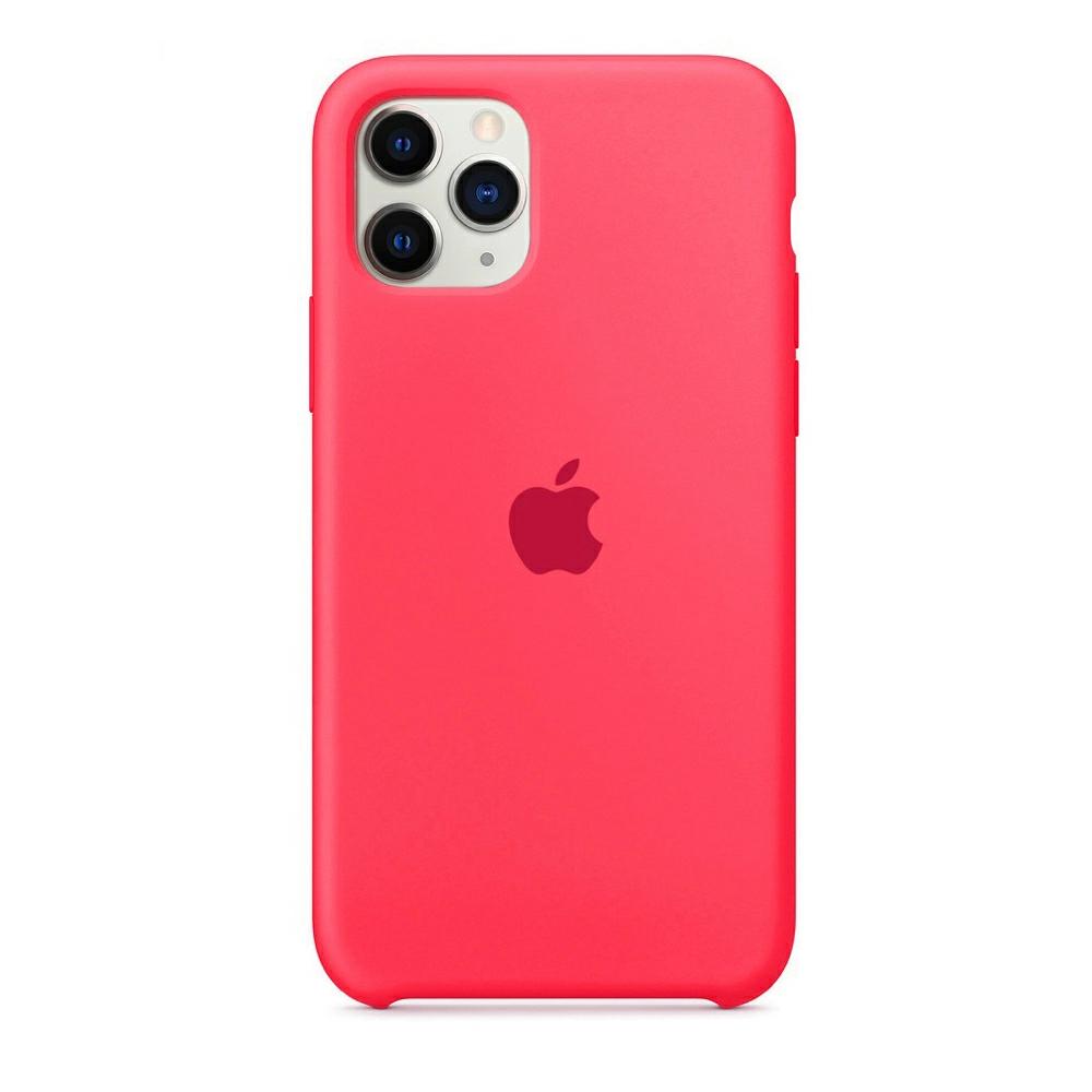 Чехол Silicone Case (Premium) для iPhone 11 Pro Max Hibiscus