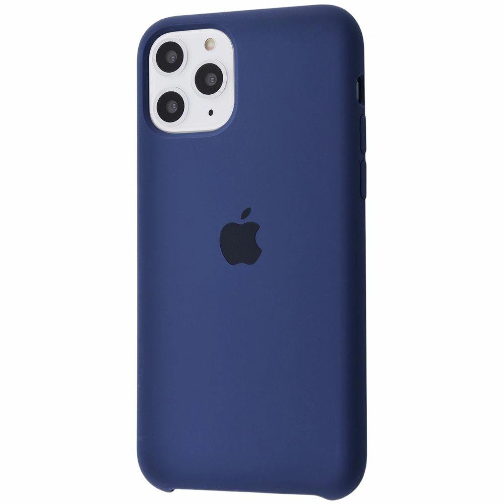 Чехол Silicone Case (Premium) для iPhone 11 Pro Max Midnight Blue