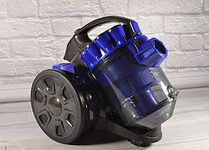 Пилосос без мішка 3000 Вт GRANT GT - 1605 (Контейнерний Пилосос ) + універсальна щітка, фото 2