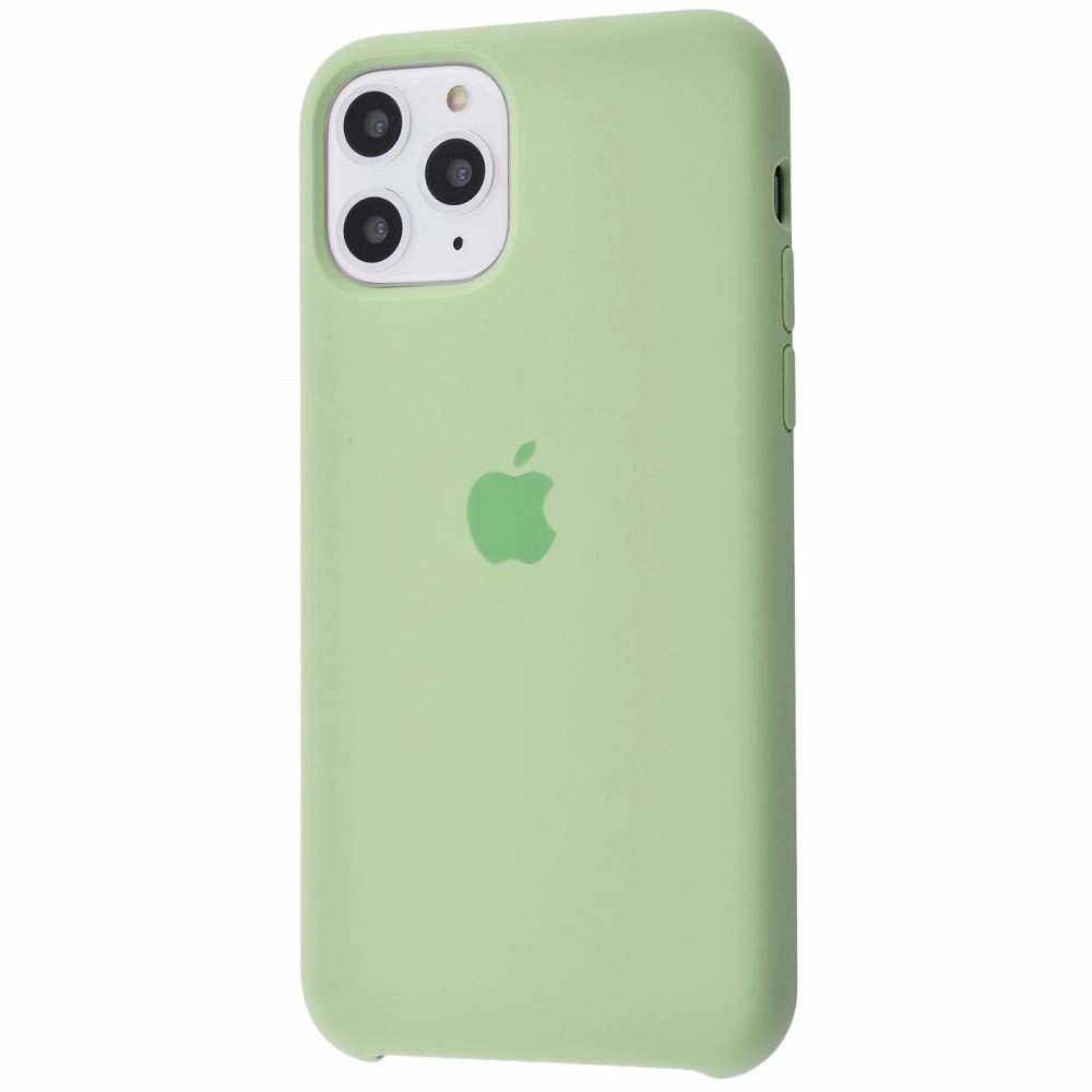 Чехол Silicone Case (Premium) для iPhone 11 Pro Max Mint