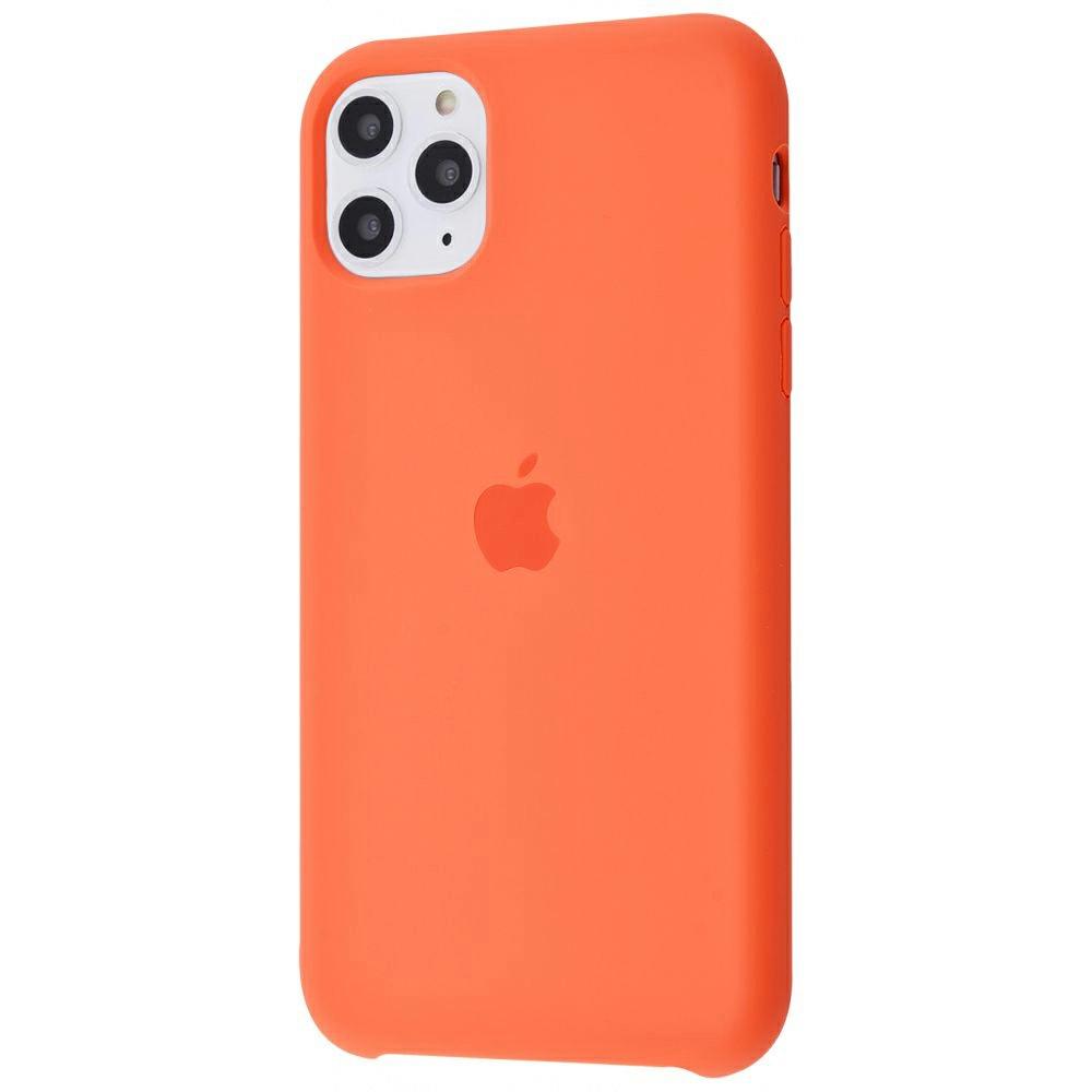 Чехол Silicone Case (Premium) для iPhone 11 Pro Max Nectarine