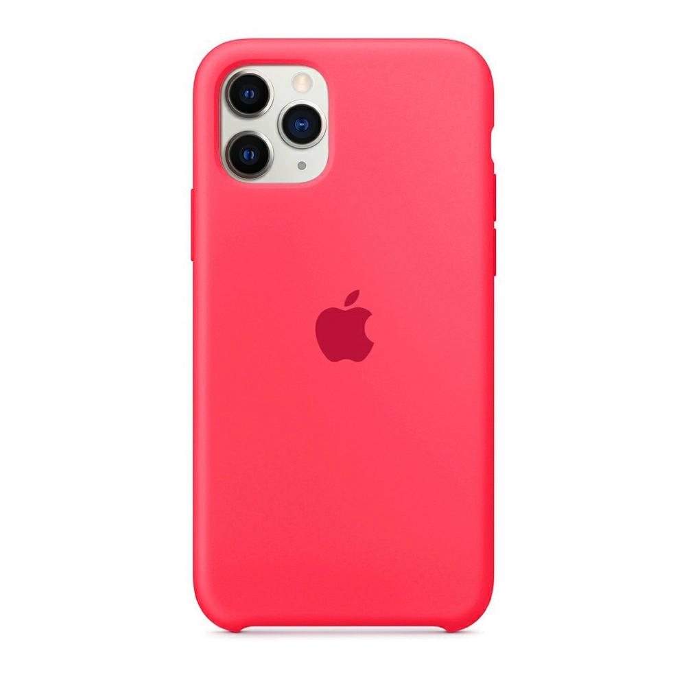Чехол Silicone Case (Premium) для iPhone 11 Pro Max Pink Paris