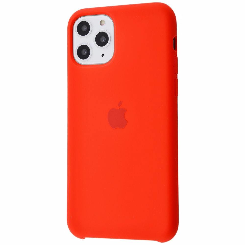 Чехол Silicone Case (Premium) для iPhone 11 Pro Max Product RED