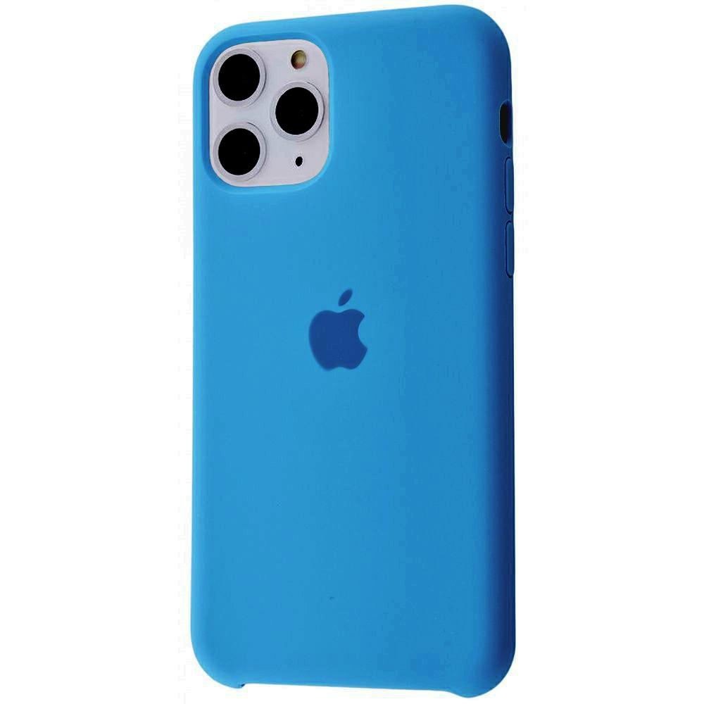 Чехол Silicone Case (Premium) для iPhone 11 Pro Max Royal Blue