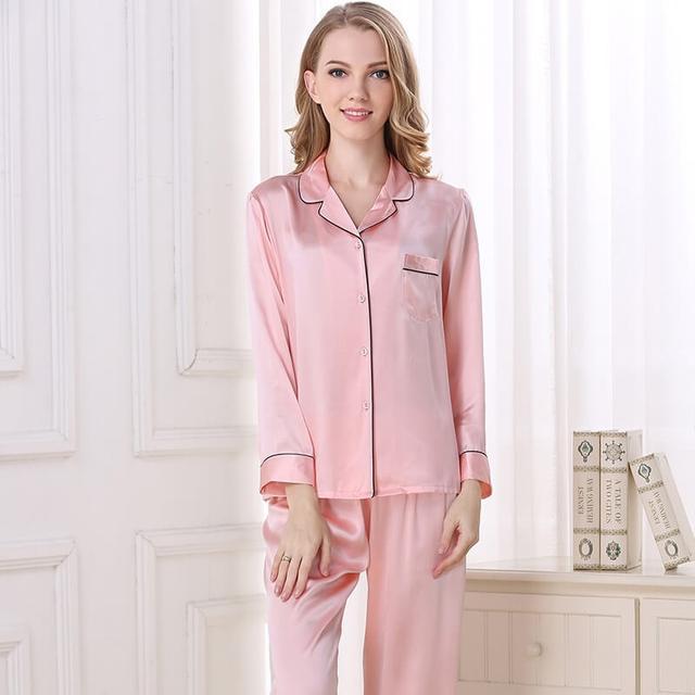 пижама женская шелковая