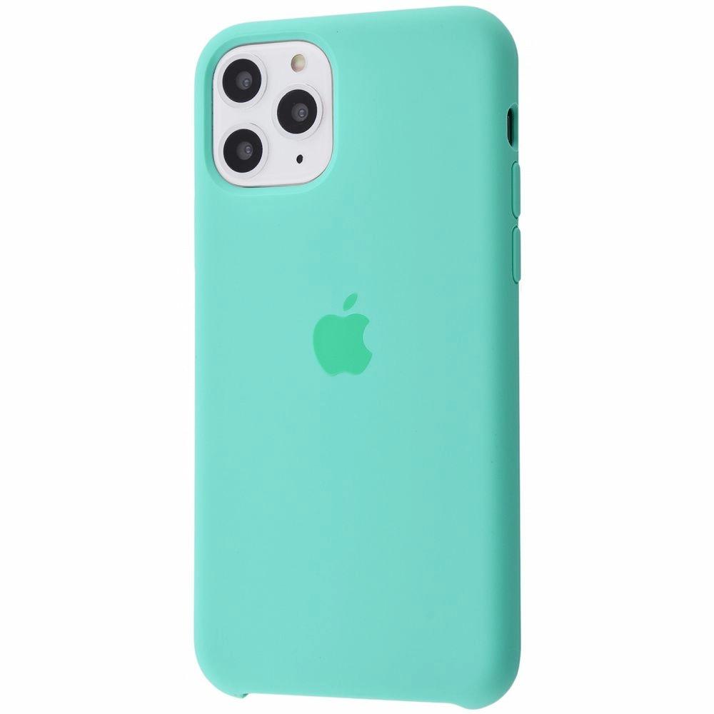 Чехол Silicone Case (Premium) для iPhone 11 Pro Max Spearmint