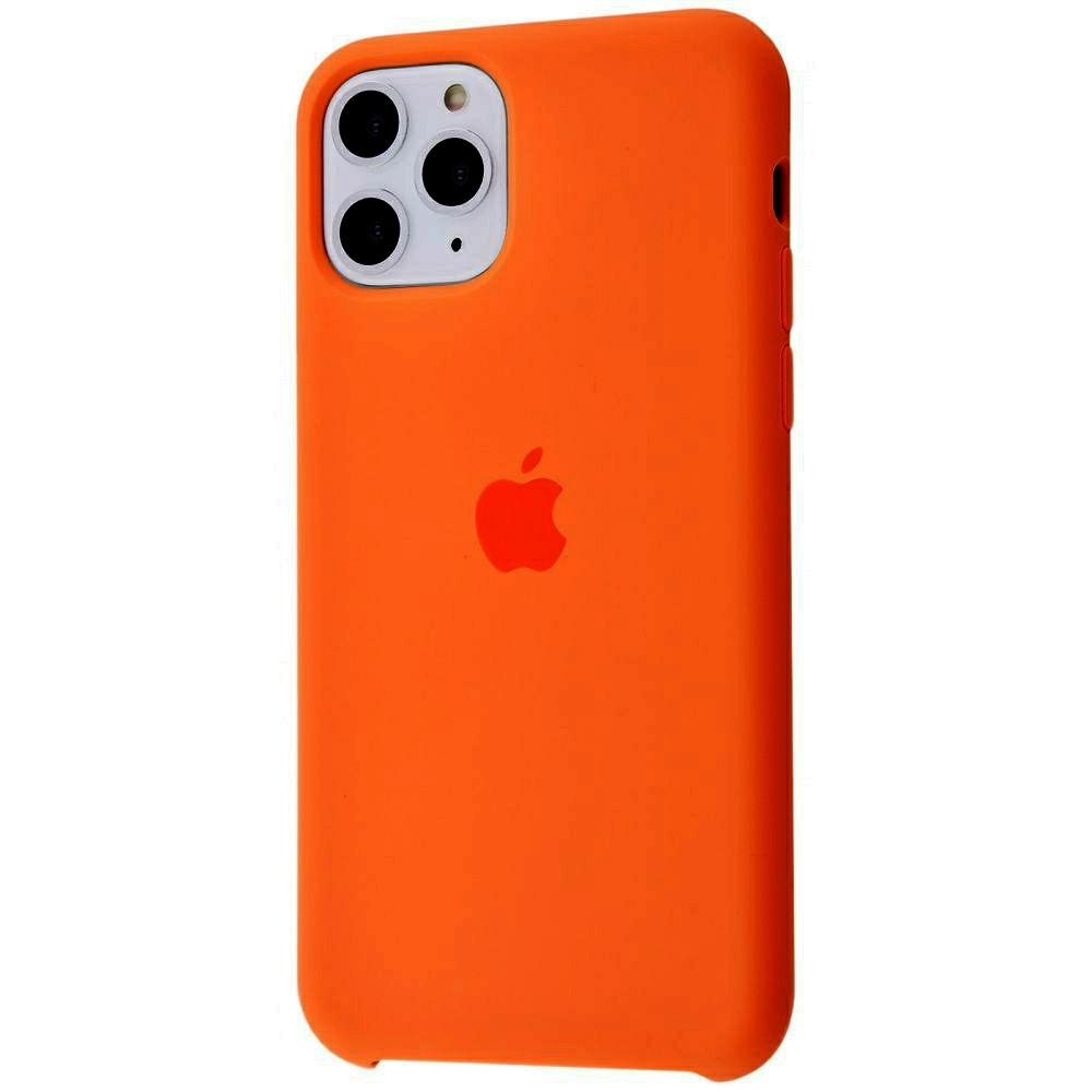Чехол Silicone Case (Premium) для iPhone 11 Pro Max Spicy Orange