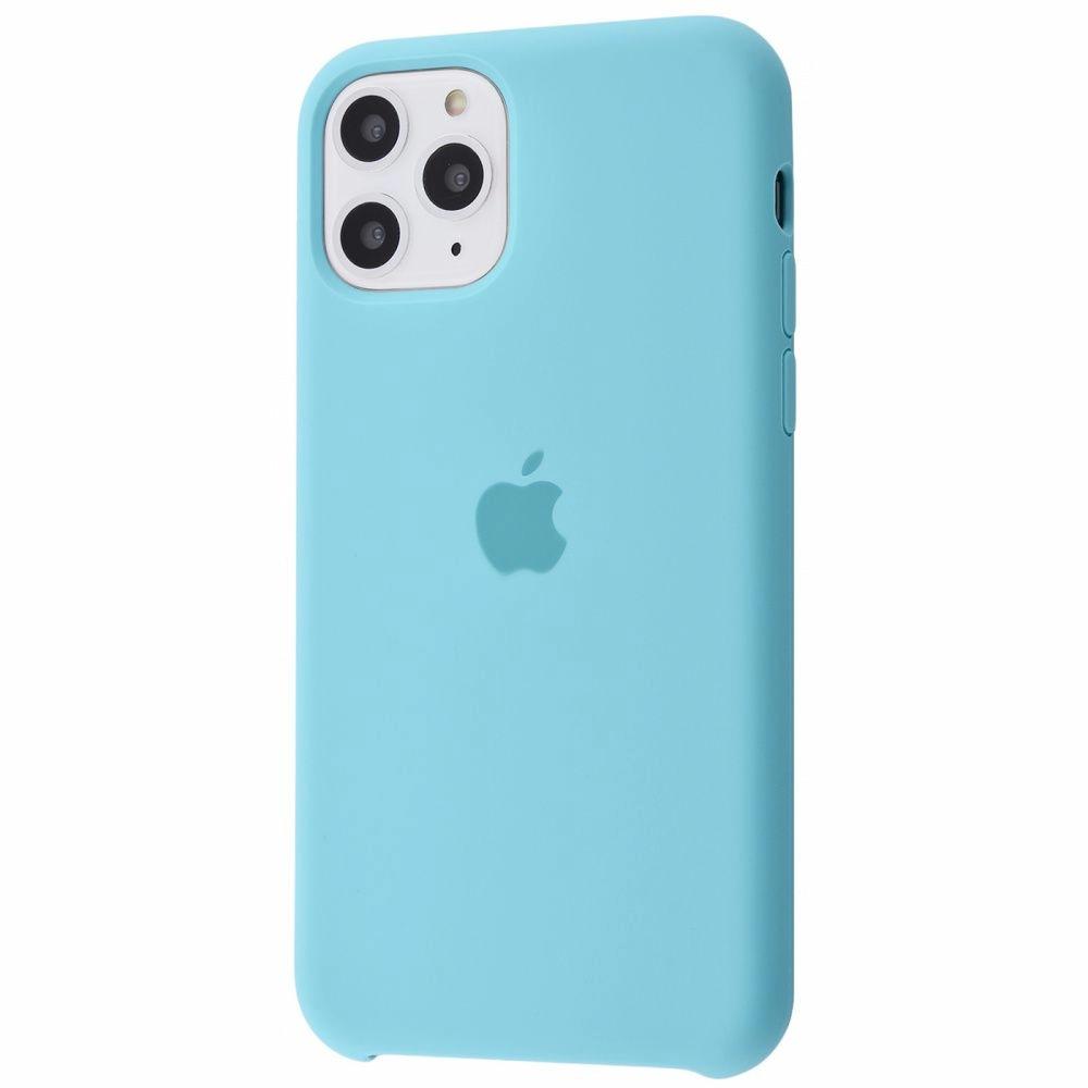 Чехол Silicone Case (Premium) для iPhone 11 Pro Max Turqouise