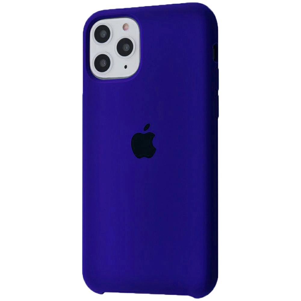 Чехол Silicone Case (Premium) для iPhone 11 Pro Max Ultra Violet