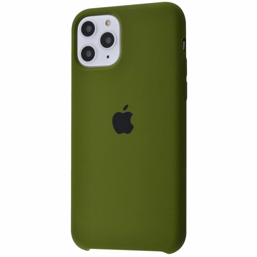 Чехол Silicone Case (Premium) для iPhone 11 Pro Max Virid
