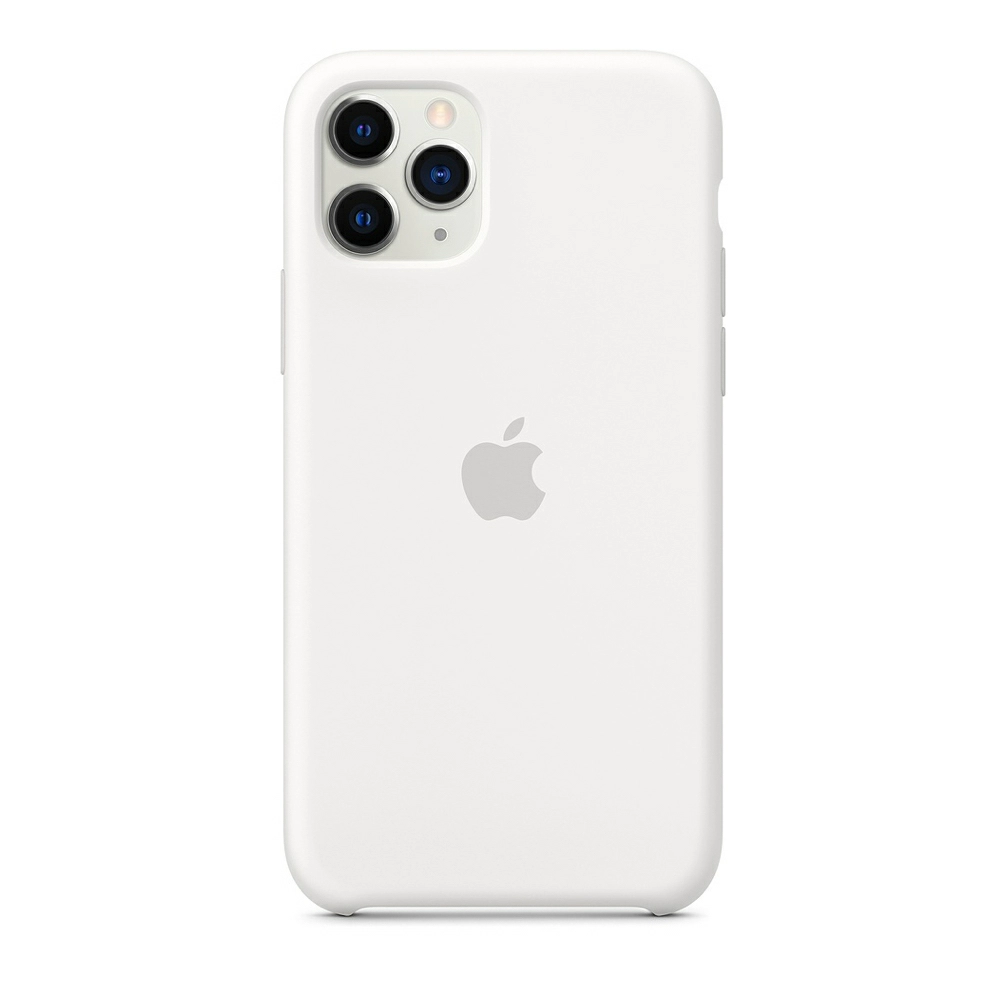 Чехол Silicone Case (Premium) для iPhone 11 Pro Max White
