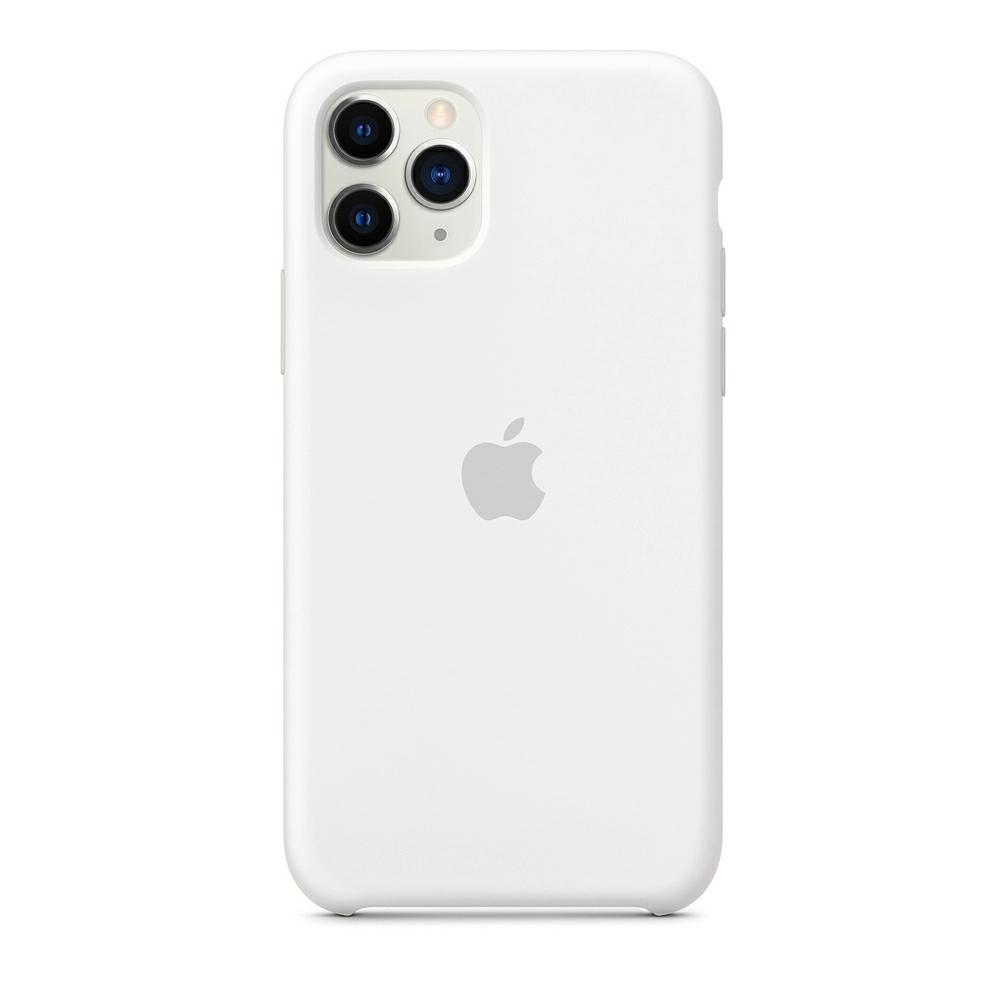 Чохол Silicone Case (Premium) для iPhone 11 Pro Max White