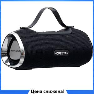 Портативная Bluetooth колонка Hopestar H40 - мощная акустическая стерео блютуз колонка Черная