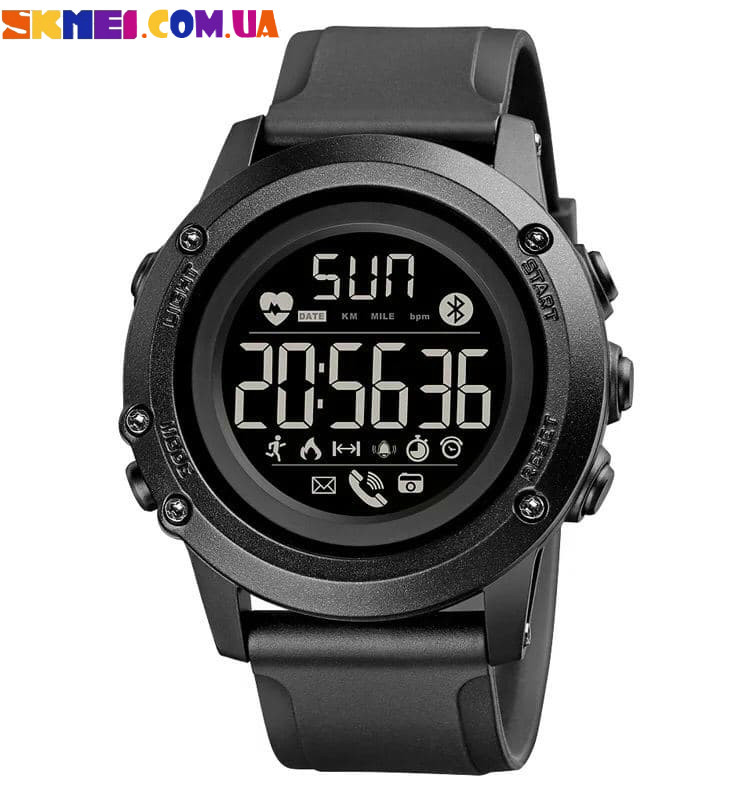 Умные-часы (Smart Watch) SKMEI 1671 (Black)